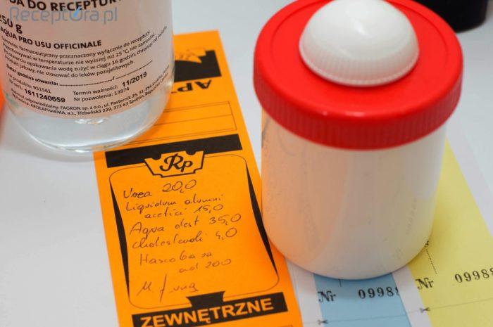 Farmakologiczny zestaw antymigrenowy (receptura)